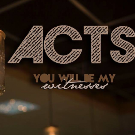 24th September – Acts 'You Will be My Witnesses'