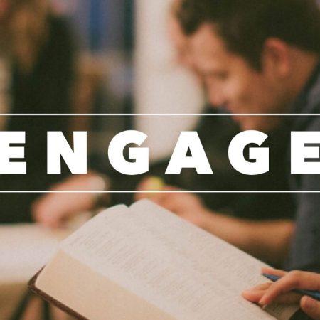 Engage Study Groups start w/b 9th Sept