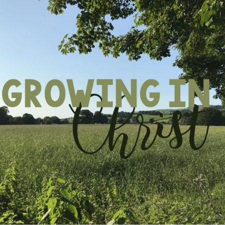 "New Series ""Growing in Christ"""