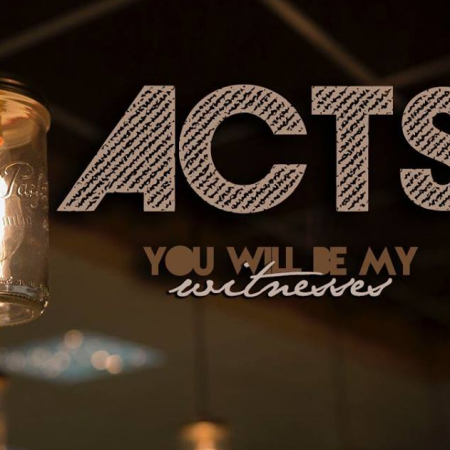 New Sermon Series in Acts