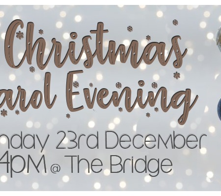 Christmas Carol Evening – 23rd Dec