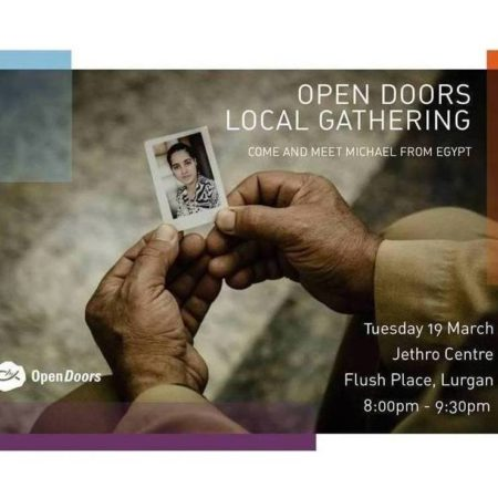 Open Doors Event 19th March