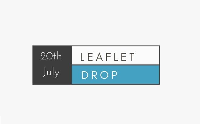 Kids Week Leaflet Drop – 20th July