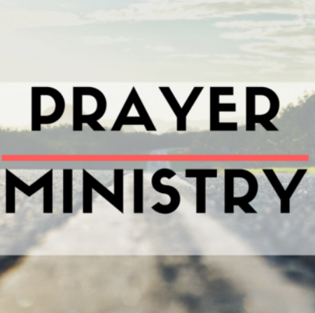 Prayer Ministry Training 4th Sept