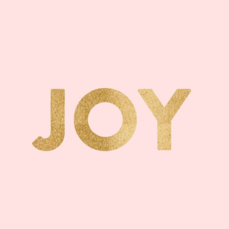 17th January – JOY