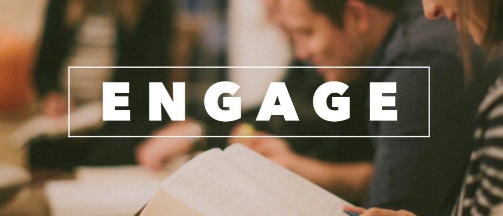Engage Study Groups meet each week
